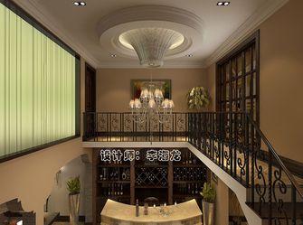 富裕型140平米复式英伦风格楼梯装修案例
