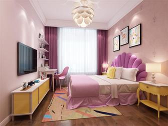 110平米三室两厅现代简约风格儿童房图