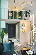 30平米小户型英伦风格客厅设计图