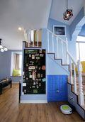 70平米公寓地中海风格阳光房欣赏图