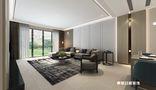 140平米四室六厅现代简约风格客厅效果图