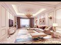140平米四室三厅其他风格客厅装修效果图