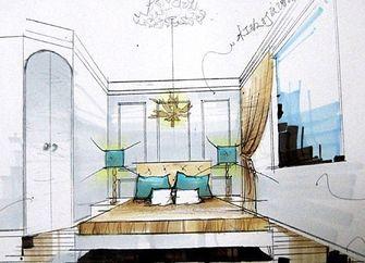 经济型80平米地中海风格楼梯效果图