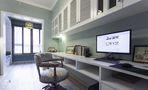 富裕型120平米三室两厅美式风格书房欣赏图