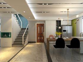 140平米四室兩廳現代簡約風格廚房設計圖