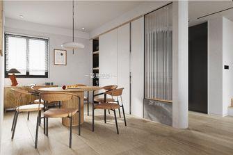 140平米复式北欧风格餐厅图片