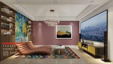 120平米三室两厅北欧风格影音室图
