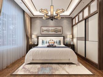 90平米三中式风格卧室欣赏图