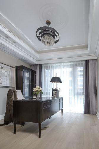 140平米别墅美式风格书房设计图