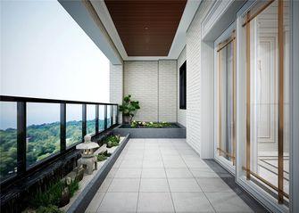 140平米四室一厅欧式风格阳台欣赏图