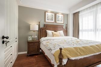 90平米三美式风格卧室装修效果图
