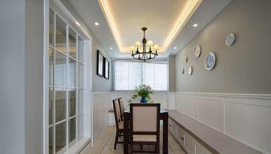 140平米三室两厅美式风格餐厅装修图片大全
