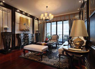 120平米三室一厅新古典风格客厅装修案例