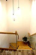 富裕型100平米复式现代简约风格楼梯图片大全