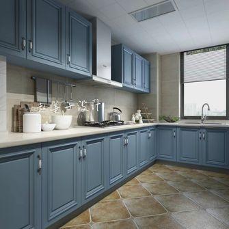 100平米三室一厅地中海风格厨房装修图片大全