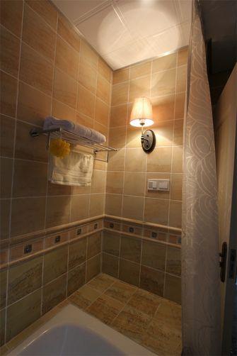 90平米三室一厅田园风格卫生间装修案例