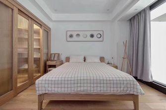 130平米三室两厅日式风格卧室图片大全