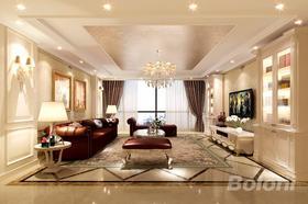 140平米三歐式風格客廳欣賞圖