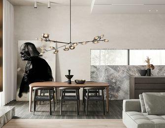 140平米三现代简约风格餐厅图片大全