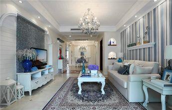 80平米地中海风格客厅图片大全