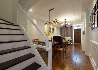 130平米美式风格楼梯间效果图