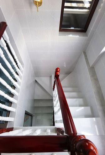 140平米三室两厅美式风格楼梯间效果图