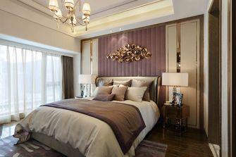 80平米三室两厅欧式风格卧室装修效果图