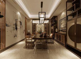 140平米复式中式风格餐厅设计图