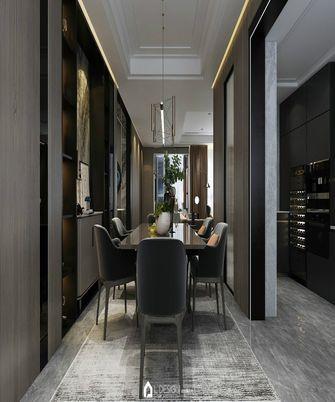 140平米三室五厅法式风格餐厅装修案例