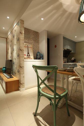 70平米一居室美式风格餐厅欣赏图