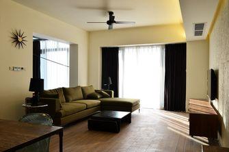 60平米复式现代简约风格客厅图片