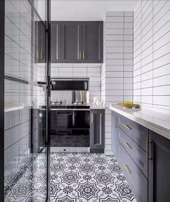 80平米法式风格厨房设计图