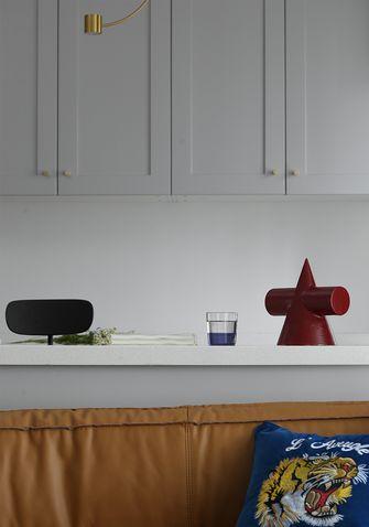 110平米三室两厅美式风格厨房欣赏图