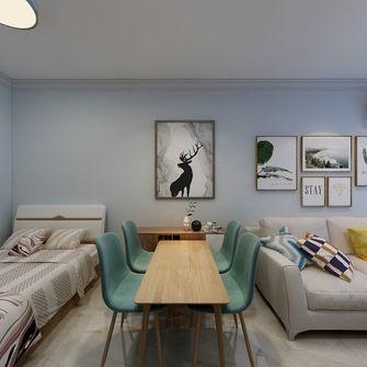 60平米一室一厅宜家风格客厅图