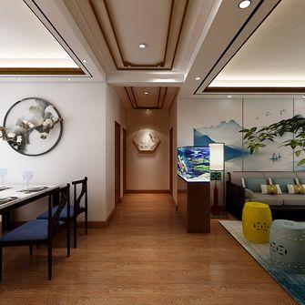 120平米三室两厅中式风格走廊图片