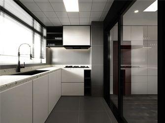 90平米三室两厅现代简约风格厨房图片