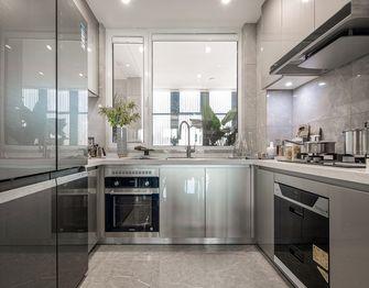 110平米三室两厅法式风格厨房图