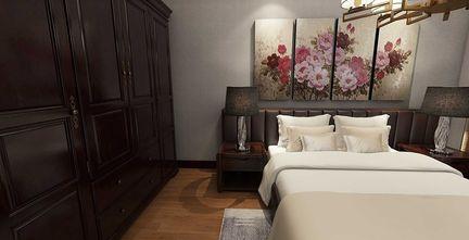 60平米一居室中式风格卧室装修案例