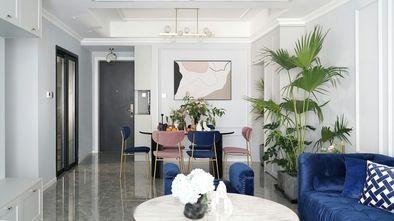 90平米三室两厅现代简约风格客厅装修图片大全