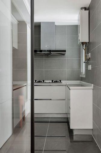 110平米四室四厅美式风格厨房设计图