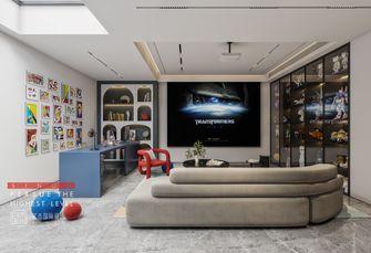 20万以上140平米别墅现代简约风格影音室设计图