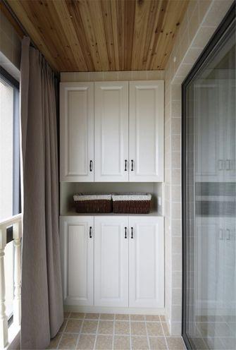 100平米三室两厅地中海风格阳台装修效果图
