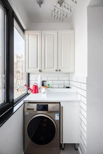 70平米公寓东南亚风格阳台效果图