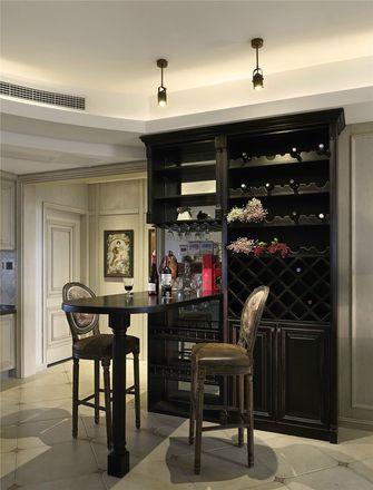 140平米三室三厅美式风格餐厅装修图片大全