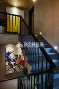 富裕型110平米复式北欧风格楼梯设计图