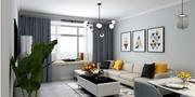 140平米一室两厅其他风格客厅设计图