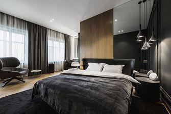 80平米一室两厅混搭风格卧室装修图片大全