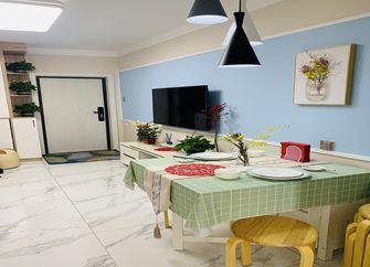 60平米一室两厅北欧风格餐厅装修案例