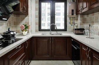 120平米三室两厅欧式风格厨房图