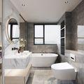 富裕型140平米四室两厅现代简约风格卫生间装修图片大全